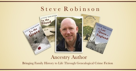 Steve Robinson - Ancestry Author: Nervous about narrator choice by Brilliant | Audiobook Business News | Scoop.it