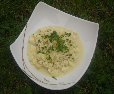 Risotto de Pommes et Gorgonzola | The Voice of Cheese | Scoop.it