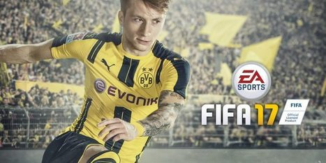Marco Reus the global cover star for this year's FIFA 17 | Video Games | Scoop.it