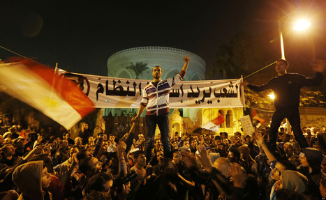 Masked Gunmen Attack Egyptian Protesters In Tahrir | Égypt-actus | Scoop.it