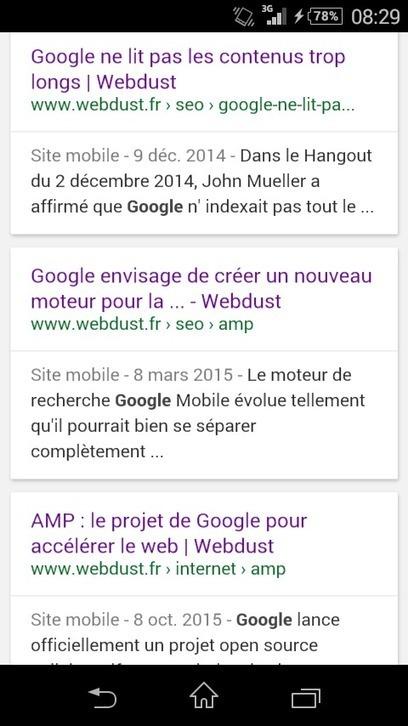 Plugin AMP et référencement : premiers retours | Webdust | Outils CM, veille et SEO | Scoop.it