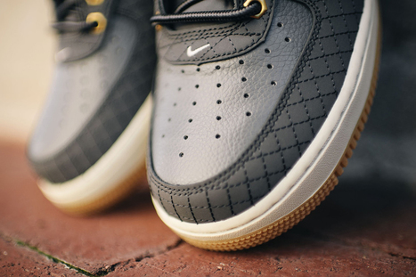This Nike Air Force 1 Is Full of Boot-Inspired Details | #Design | Scoop.it