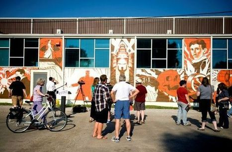 Mural celebrates innovation, Lincoln's growth : The Lincoln Journal Star Online | Volunteers & Nonprofits | Scoop.it