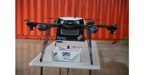 En Nouvelle-Zélande Domino's Pizza livre ses clients grâce à des drones créés en impression 3D | great buzzness | Scoop.it