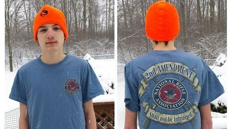 New York high school student suspended for NRA pro-2nd Amendment T-shirt | Gov & Law | Scoop.it