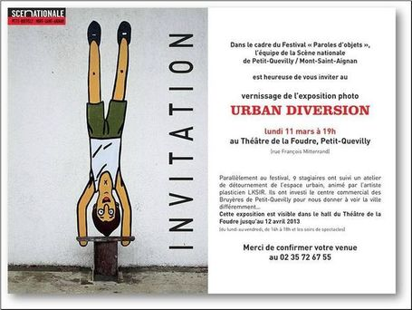 URBAN DIVERSION - LKSIR | Rouen | Scoop.it