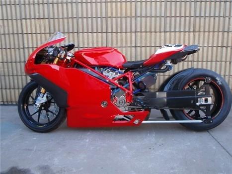 Ducati 749R Turbo. 214bhp. | Ducati & Italian Bikes | Scoop.it