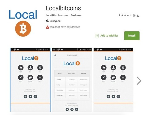 Fake LocalBitcoins Android App is Phishing For Bitcoins | Bitcoin Economy | Scoop.it