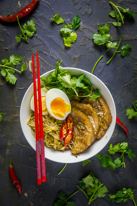 Black Sesame & Shiro Miso Ramen - The Nude Food Hero | Everything about cooking and recipes | Scoop.it