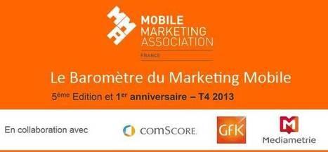 Baromètre du Marketing Mobile de la MMAF 4ème trimestre 2013 ... | marketing mobile | Scoop.it