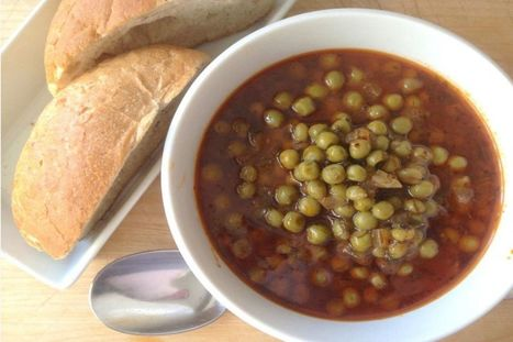 Greek Peas (Arakas Kokinistos) [Vegan, Gluten-Free] | My Vegan recipes | Scoop.it