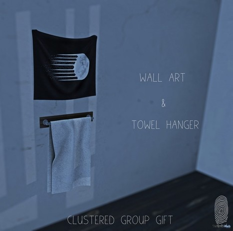Wall Art and Hanging Towel Group Gift by Clustered | Teleport Hub - Second Life Freebies | Second Life Freebies | Scoop.it