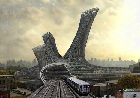 Dynamic Residential Buildings Proposed Above Urban Transportation Hubs | Le It e Amo ✪ | Scoop.it
