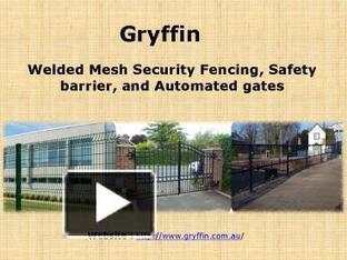 Welded Mesh Security Fencing, Automated Gates & Safety Barrier by Gryffin | Gryffin | Scoop.it