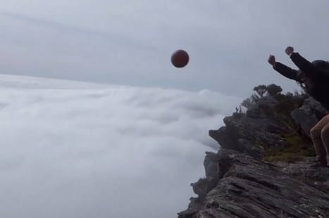 This Basketball Is Thrown From Above The Clouds And The Magnus Effect Makes It Do Something Pretty Awesome | Lo que leo y otras astrologías. | Scoop.it