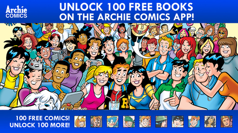 Archie Comics Gives Away 100 Free Digital Editions | Ebook and Publishing | Scoop.it