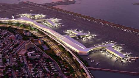 NYC's LaGuardia Airport to receive $4 billion redesign | Adam Williams | GizMag.com | @The Convergence of ICT & Distributed Renewable Energy | Scoop.it