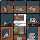 Comic: El gato que quería ser famoso en YouTube | VIM | Scoop.it