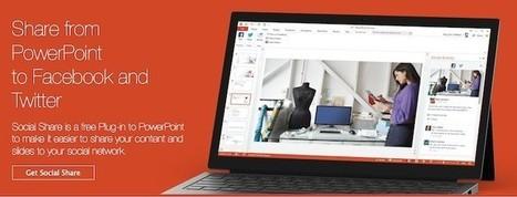Social Share, para compartir presentaciones de PowerPoint en redes sociales | recursos + herramientas | Scoop.it