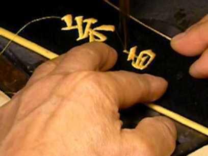 Making of a Custom Hand-Embroidered Martial Arts  Black Belt - Eosin Panther   Ronin Bujutsu Kai   Scoop.it