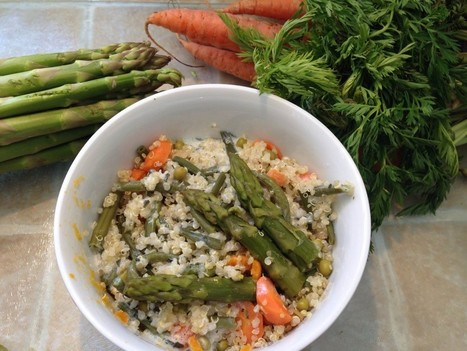 Recette diététique et légère : Quinoa aux légumes de printemps | Walea Club | Scoop.it