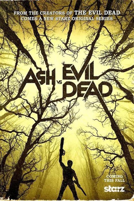 Première image de Bruce Campbell dans la nouvelle série Ash vs Evil Dead : Un peu d'huile de tronçonneuse et le revoilà ! | Inspiration Rôlistique | Scoop.it