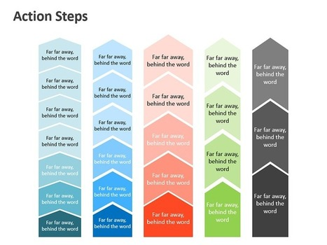 Action Steps - Business Graphics | PowerPoint Presentation Tools and Resources | Scoop.it