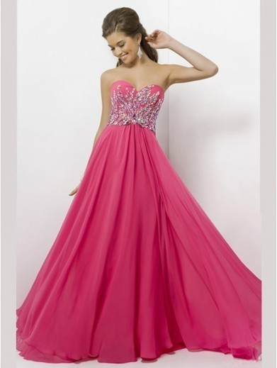 Empire Sweetheart Sleeveless Chiffon Prom Dresses With Beaded #VenusJ002 | Cheap Wedding Dresses UK, Bridesmaid Dresses, Evening Dresses & Prom Dresses In UK | Scoop.it