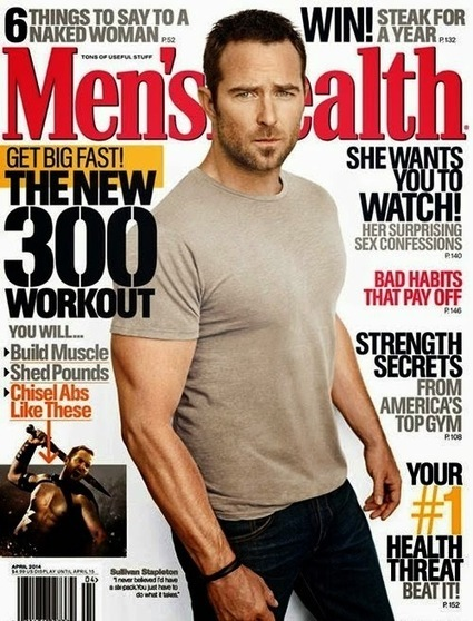 La star di 300 Sullivan Stapleton in copertina su MEN'S HEALTH - JHP by Jimi Paradise™ | GOSSIP, NEWS & SPORT! | Scoop.it