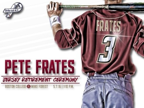 Frates' No. 3 Jersey to be Retired at Fifth Annual ALS Awareness Game | #ALS AWARENESS #LouGehrigsDisease #PARKINSONS | Scoop.it