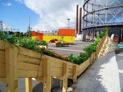 All Aboard the Helsinki Plant Tram, A Whimsical Urban Garden ... | The Finnishing Touches | Scoop.it
