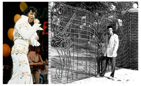 ELVIS AT GRACELAND'S GATES | Keith Russell Collections | Scoop.it