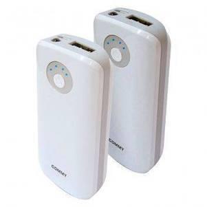 Commy Power Bank CM-A56(S) - 5600 mAh -Double Pack | GoodShopHere.com | แบตเตอรี่สํารองราคาถูก | Scoop.it