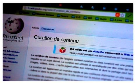 Le principe de la curation en une infographie | curation definition | Scoop.it