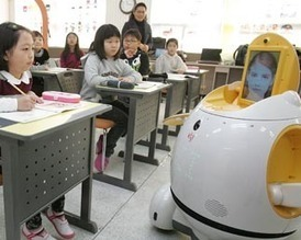 South Korea's Robot Teachers To Test Telepresence Tools in the New Year | Singularity Hub | Learning Technology News | Scoop.it