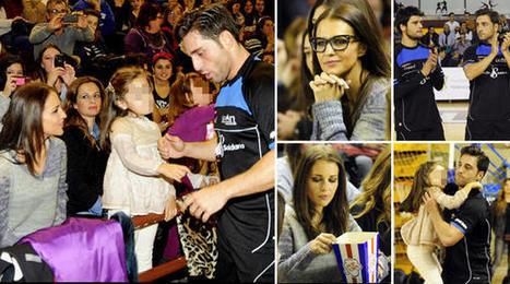 Paula Echevarría y su hija Daniella, las 'cheerleaders' más cariñosas de Bustamante | lll Desafío Solidario (14 Diciembre 2013) | Scoop.it