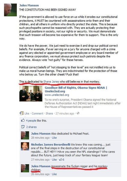 CA politician, Ron Paul supporter posts racist call for assassination of Pres. Obama and daughters   The Political Carnival   africa   Scoop.it
