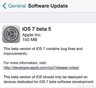 iOS 7 Beta 5 Yayınlandı (İndir) | Teknoloji Blogu, En son ve güncel teknoloji haberleri | Teknoloji Blogu | Scoop.it