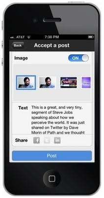 Scoop.it packs its blog-style Web curation tools into a new iPhone app | TScoop | Scoop.it