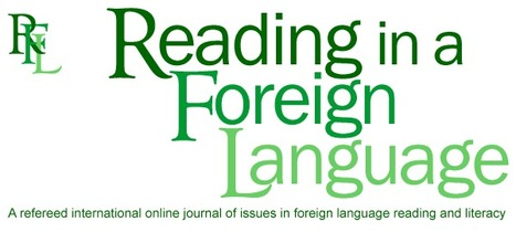 Reading in a Foreign Language (RFL) | Learning Design | Scoop.it