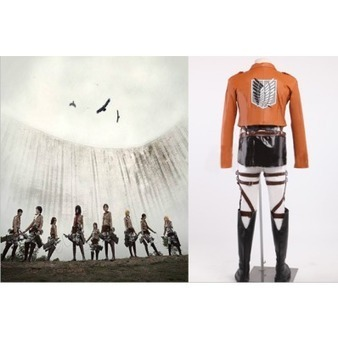 Attack on Titan the Recon Corps Uniform Outfits Cosplay Costume | Cosplay Costumes | Scoop.it
