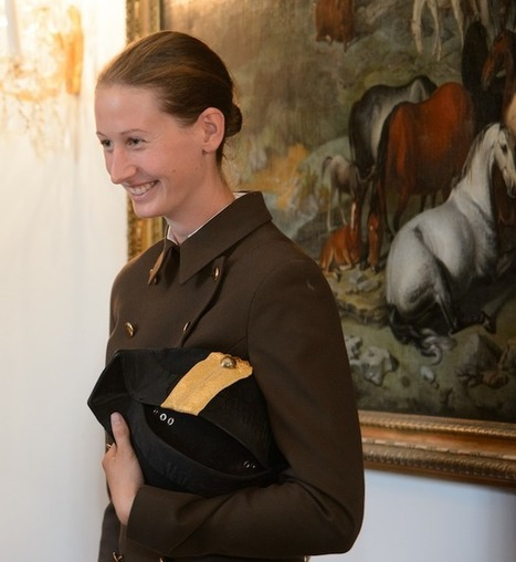 """Cracking the Lipizzaner ceiling: Hannah Zeitlhofer promoted to first woman """"Reiter"""" at the Spanish Riding School in Vienna 