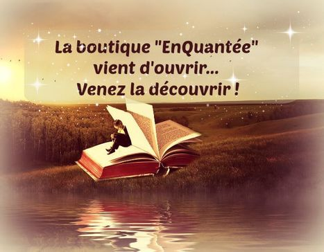 "La boutique ""enQuantaée"" 