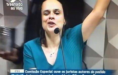 No Senado, Janaina Paschoal revela fragilidade do impeachment | #ProtestosBR | Scoop.it
