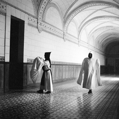 White Monks: A Life in Shadows photography exhibition –in pictures | Visual Culture and Communication | Scoop.it