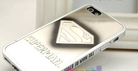 Silver Superman iPhone 5 case   Mobile Geek   Scoop.it
