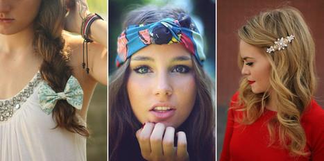 Des accessoires colorés dans mes cheveux - Femme Actuelle | Pour nos cheveux ! | Scoop.it