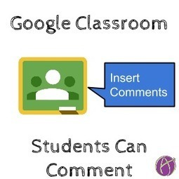 Google Classroom: Change Docs to Can Comment ^ Teacher Tech ^ by Alice Keeler | Into the Driver's Seat | Scoop.it