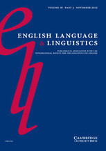 English Language and Linguistics | TELT | Scoop.it