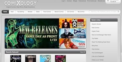 ComiXology débarque en Europe avec ses BD numériques | Veille sur la bande dessinée pour tous | Scoop.it